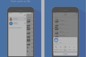 Microsoft updates OneDrive, which is now integrated in iMessage