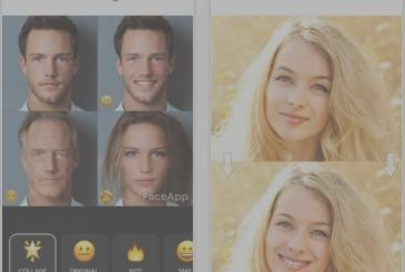 FaceApp, add a smile to your photos