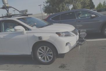 Apple, here are the first pictures of the car testing for the automatic!