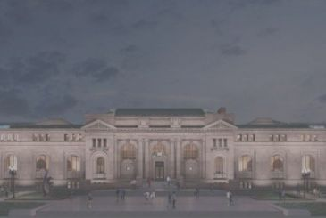 The Apple Store in the Carnegie Library in Washington, here are the details