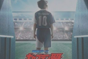 Holly and Benji arrive at the theatre with Super Experience Stage Captain Tsubasa