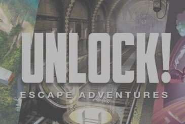 Unlock! When the Escape Room you are playing at home...