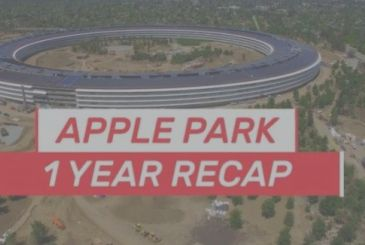 Apple Park, 12 months of work summarized in a video