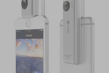 Insta360 Nano, the room at 360 degrees, connects to the iPhone