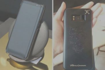 Samsung Galaxy S8: in short, a cover the official dedicated to Pirates of the Caribbean: The revenge of Salazar