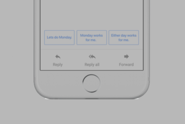 The Smart Reply of Google will also come on Gmail for iOS