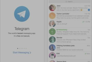 Telegram, arriving payments, Apple Pay, video messaging and much more