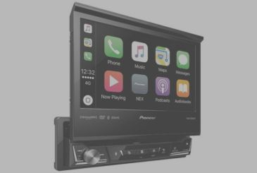 This is Pioneer's new car stereos CarPlay