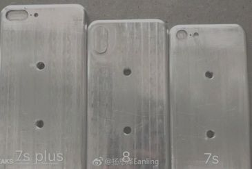 New iphones, network images of 3 moulds