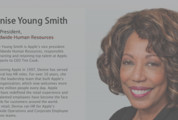 Denise Young Smith is the new head of Apple for programs on diversity