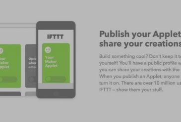 IFTTT launches new Maker, that is compatible with the Apple Action multiple