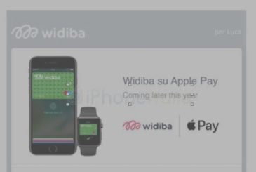 The online bank Widiba will support soon Apple Pay