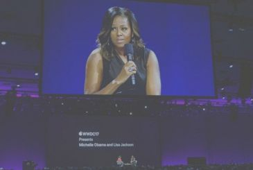 WWDC 2017, Michelle Obama talks about diversity, the environment and much more