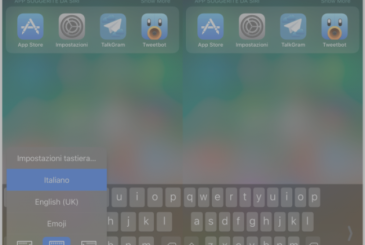 Keyboard for a hand: how to use it on iOS 11?