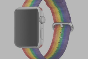 "Apple donates part of the proceeds of the ""Pride Edition"" band in the LBGTQ"