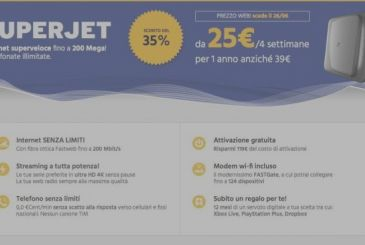 Fastweb SuperJet, find out all the discounts!!!