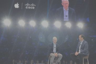 Apple and Cisco together to offer advantages to companies