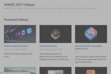 Apple publishes the transcripts of all the videos of the WWDC 2017