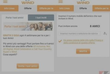 Bring a friend in the Wind: 2 GB for free forever!