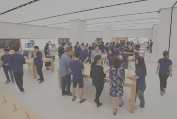 Apple unveils the first images of the store in Taiwan