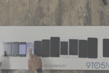10 years of iPhone in a single video!