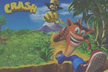 Crash Bandicoot N. Healthy Trilogy available today