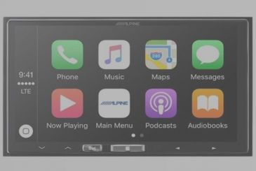 Alpine introduces the first receiver-compatible with Apple CarPlay Wireless