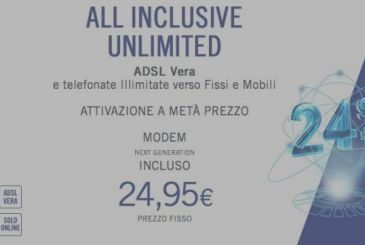 Fibre and ADSL Infostrada at half the price, here are the details!