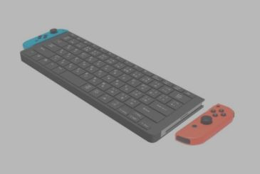 Cyber Gadget, a keyboard for the Nintendo Switch