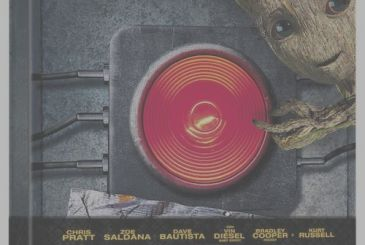 Guardians of the Galaxy Vol. 2: this is the Steelbook of the movie in the preview