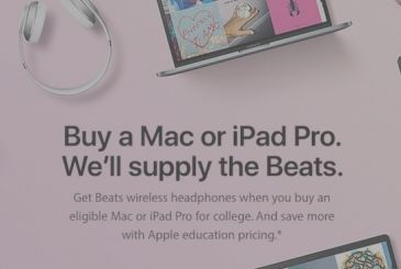 "Apple launches the promo ""Back to School"" 2017"