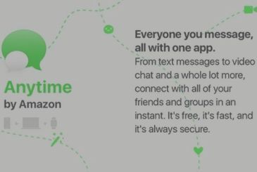 Amazon to work on Anytime, the new messaging service for iOS and Android