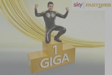 Here is the new offer Fastweb + Sky