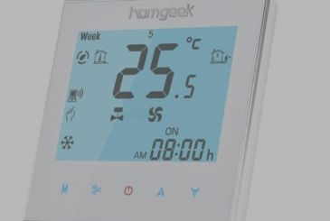 The thermostat Homgeek you control via iPhone