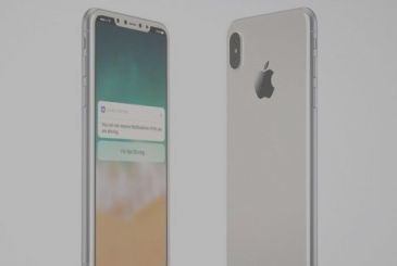 IPhone 8, no coloring, with front white – Rumor