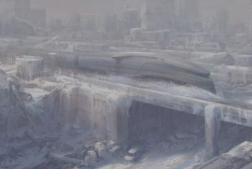 Snowpiercer: Cars and different environments on the train, post-apocalyptic TNT