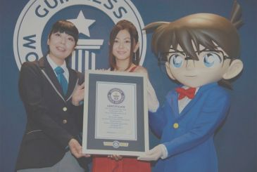 Detective Conan enters Guinness world records