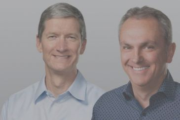 Tim Cook and Luca Maestri, commenting on the results, Apple
