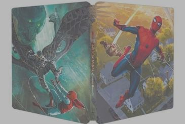 Spider-Man: Homecoming – Here is the spectacular Steelbook of the film, a preview of