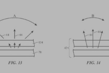 Apple patented the display of the future: privacy and new technologies
