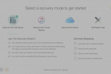 PhoneRescue: yet another software for data recovery on iOS