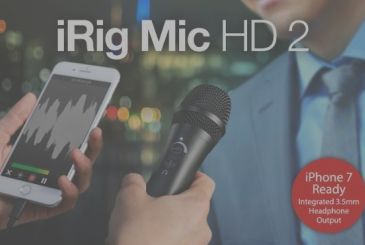 IRig Mic HD 2 is available for pre-order!