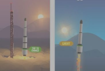 Space Frontier: fly a space rocket as high as possible