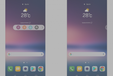 LG V30: new action bar and always-on display renewed
