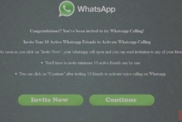 Whatsapp and coloured text: careful, it is a virus!