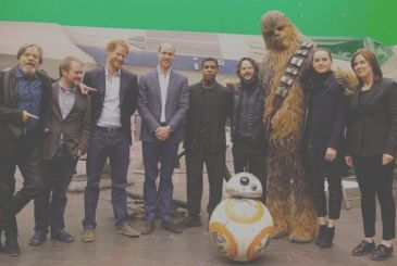 Star Wars: The Last Jedi – John Boyega confirms the cameo, Tom Hardy, and of princes William and Harry!