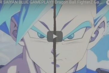 Dragon Ball FighterZ: the new trailer reveals the Super Saiyan Blue of Vegeta and Goku, and a great novelty!