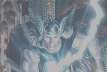 Marvel Legacy: Thor classic cover by Alex Ross