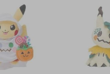 Pokemon, the new official line of products with a Halloween theme!