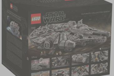 Star Wars: LEGO announces new set from 7541 pieces of the Millenium Falcon UCS